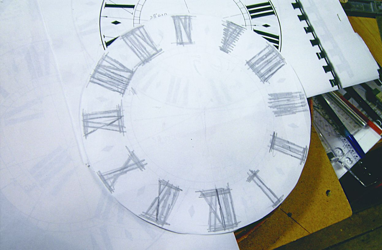 Painting clock dials with Clocks Magazine
