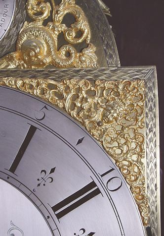from Jayson dating brass dial longcase clocks