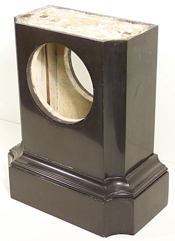 Restoring a black marble clock case with Clocks Magazine, figure 4