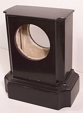 Restoring a black marble clock case with Clocks Magazine, figure 7